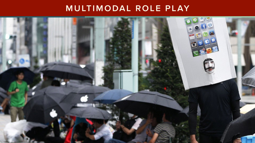 MULTIMODAL ROLE PLAY