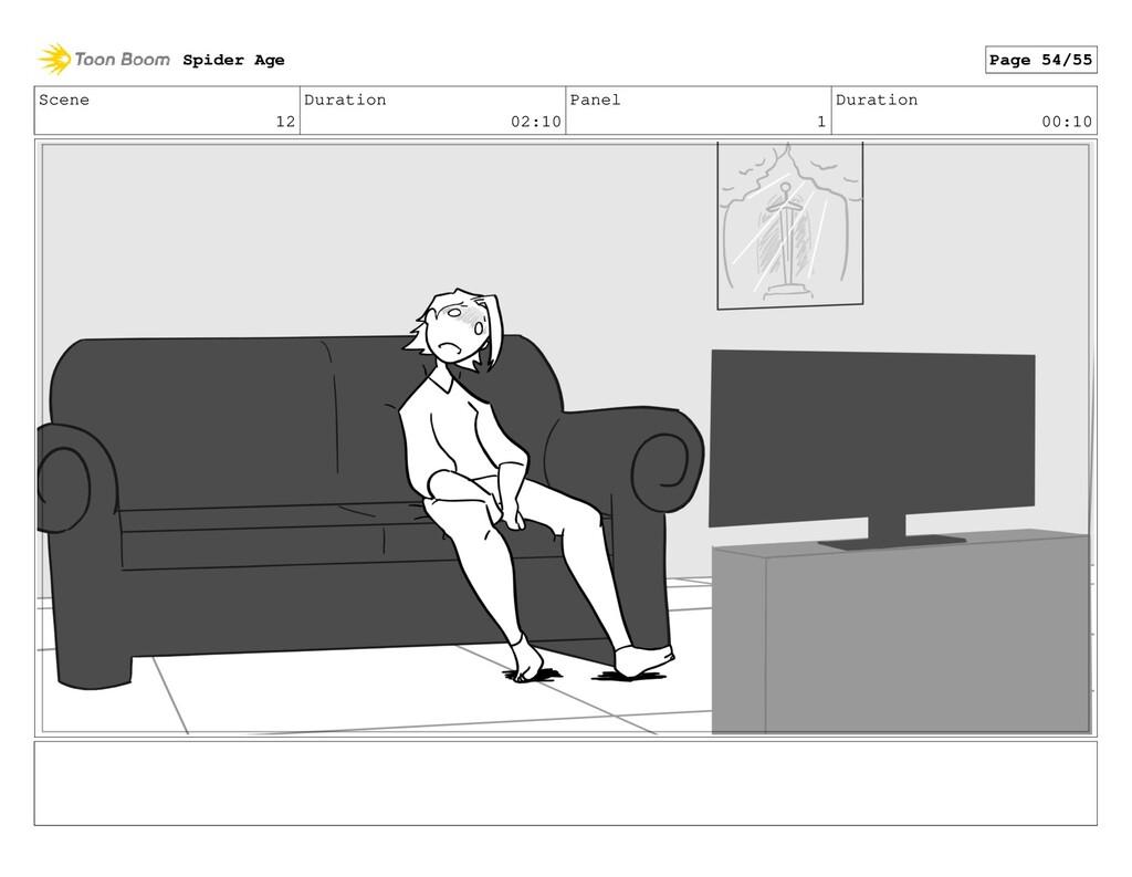 Scene 12 Duration 02:10 Panel 1 Duration 00:10 ...