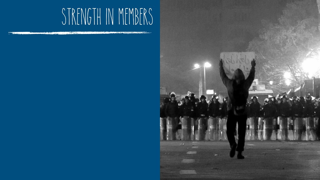 strength in members