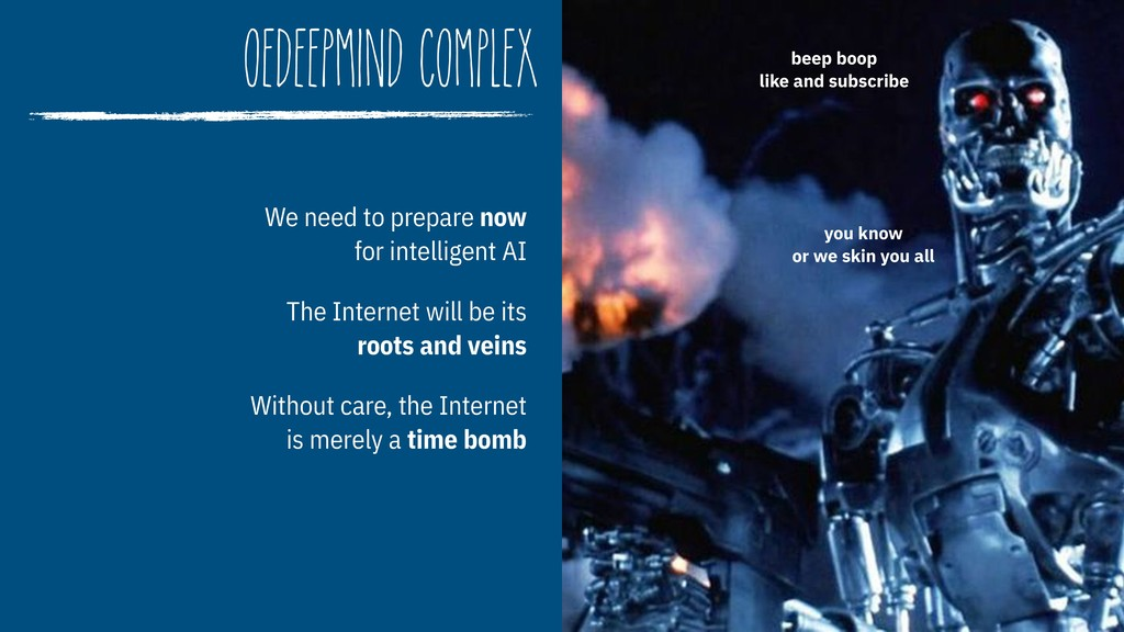 OedeepMind Complex We need to prepare now  for...