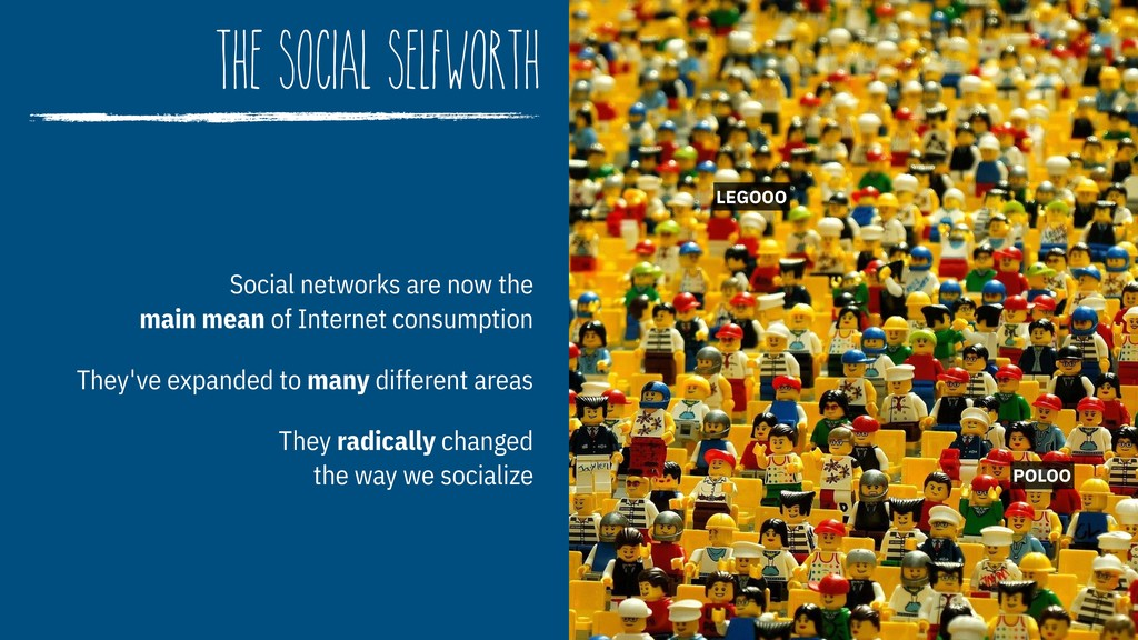 The Social Selfworth Social networks are now th...