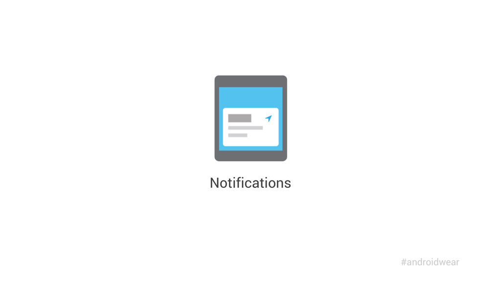 Notifications #androidwear