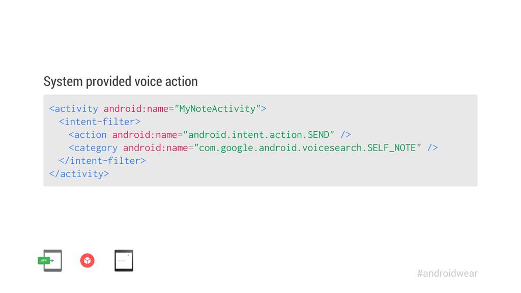 "<activity android:name=""MyNoteActivity""> <inten..."