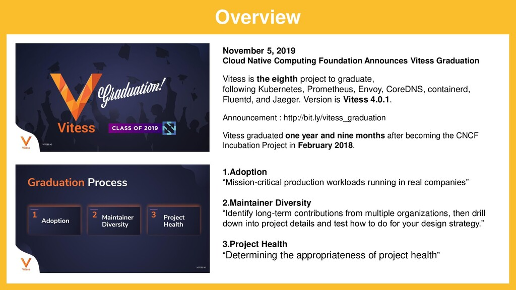 Overview November 5, 2019 Cloud Native Computin...