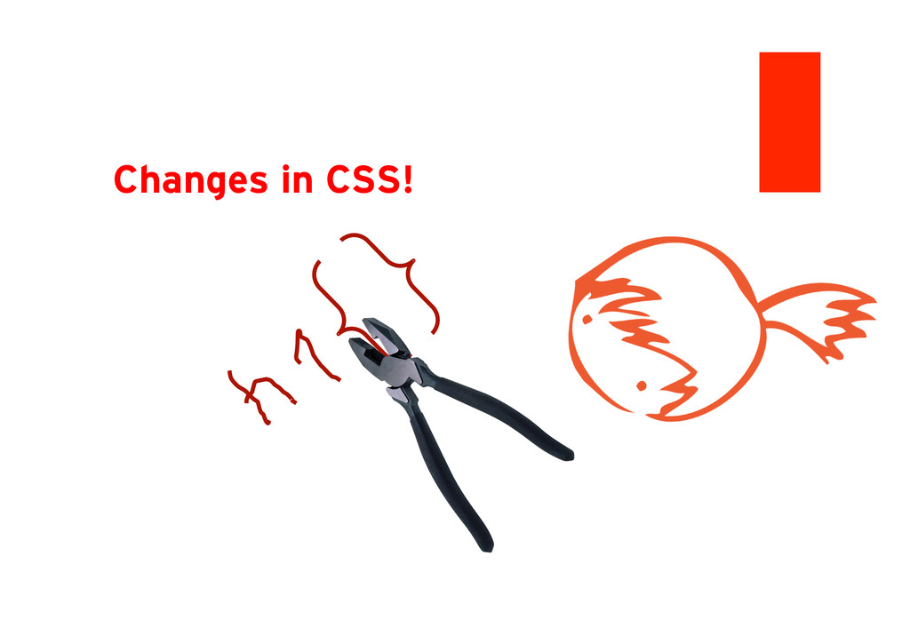 Changes in CSS!