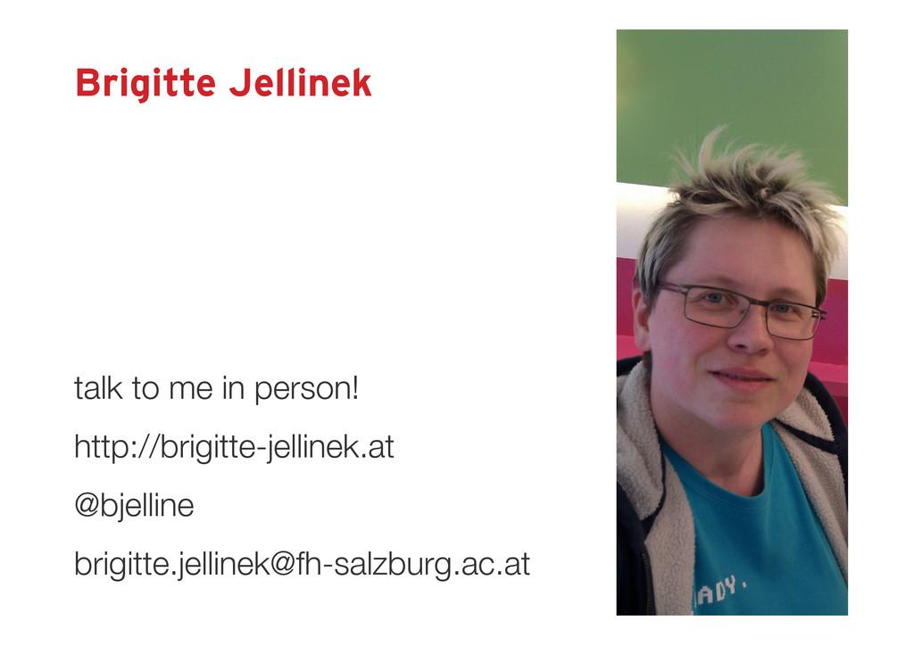 Brigitte Jellinek http://brigitte-jellinek.at @...