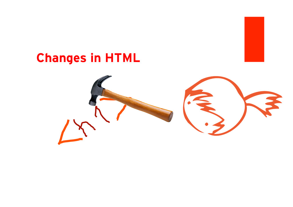 Changes in HTML