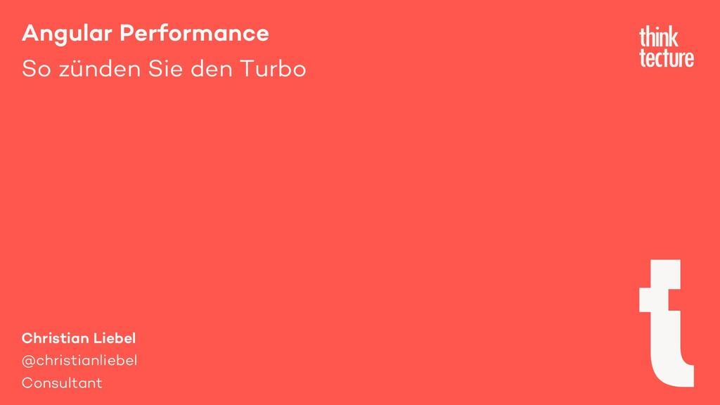 Angular Performance So zünden Sie den Turbo Chr...