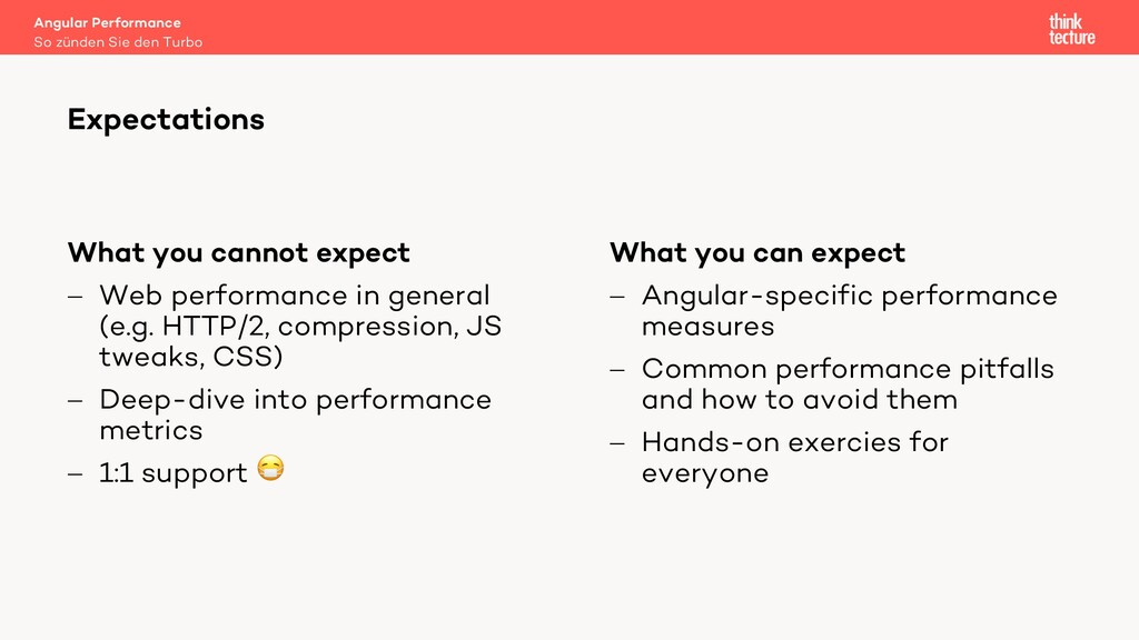 What you cannot expect - Web performance in gen...