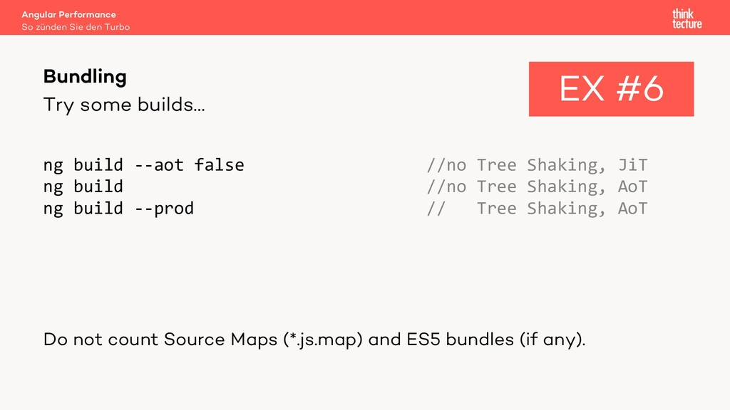 Try some builds… ng build --aot false //no Tree...