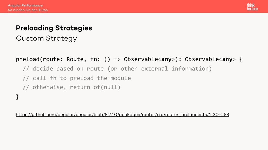Custom Strategy preload(route: Route, fn: () =>...