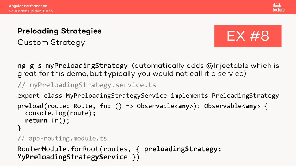 Custom Strategy ng g s myPreloadingStrategy (au...