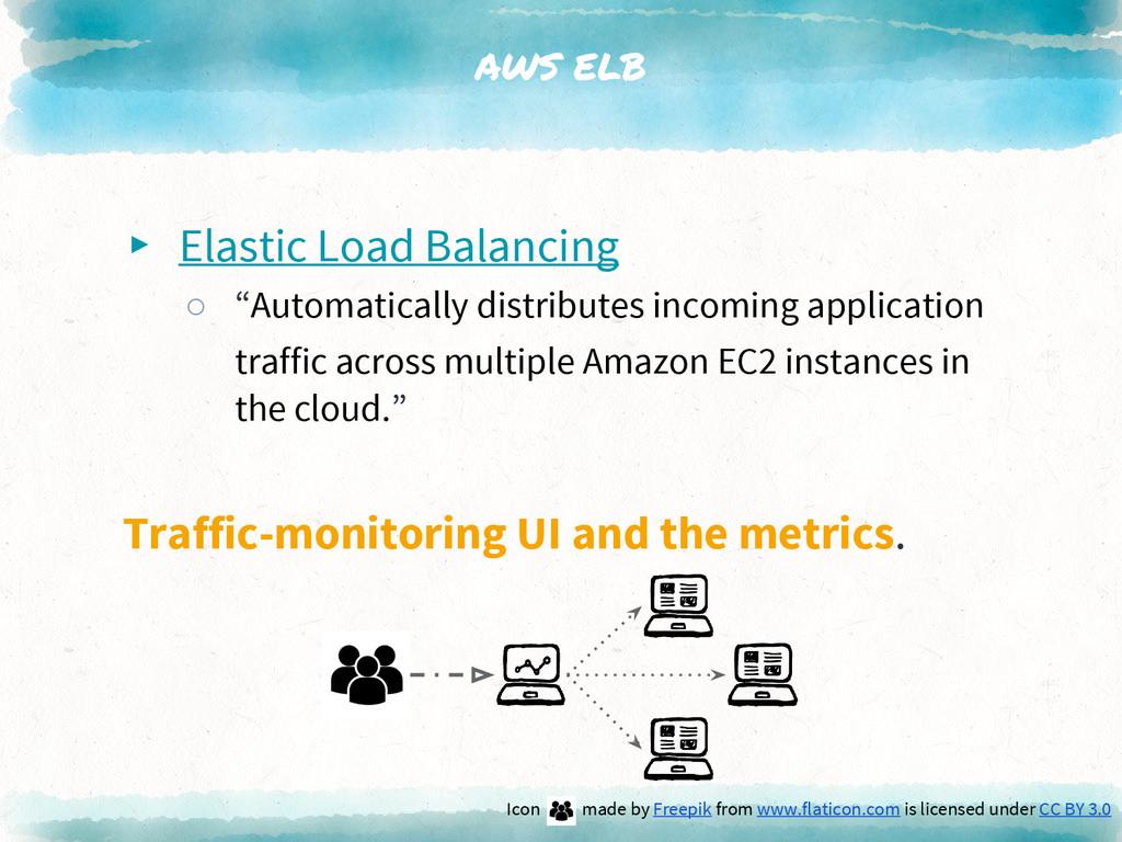 "AWS ELB ▸ Elastic Load Balancing ○ ""Automatical..."