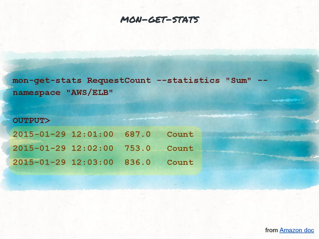 mon-get-stats mon-get-stats RequestCount --stat...
