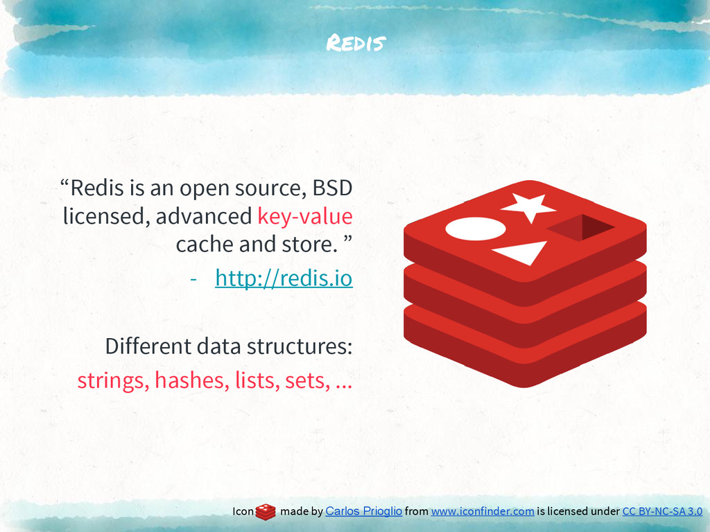 """Redis """"Redis is an open source, BSD licensed, a..."""