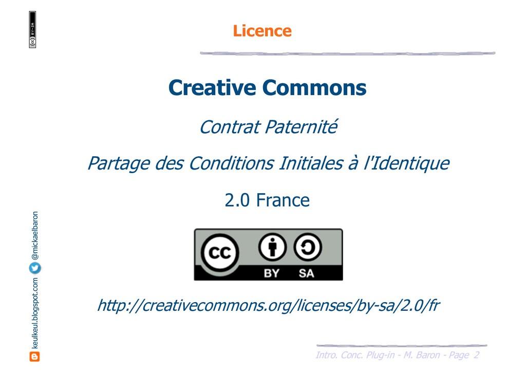2 Intro. Conc. Plug-in - M. Baron - Page keulke...