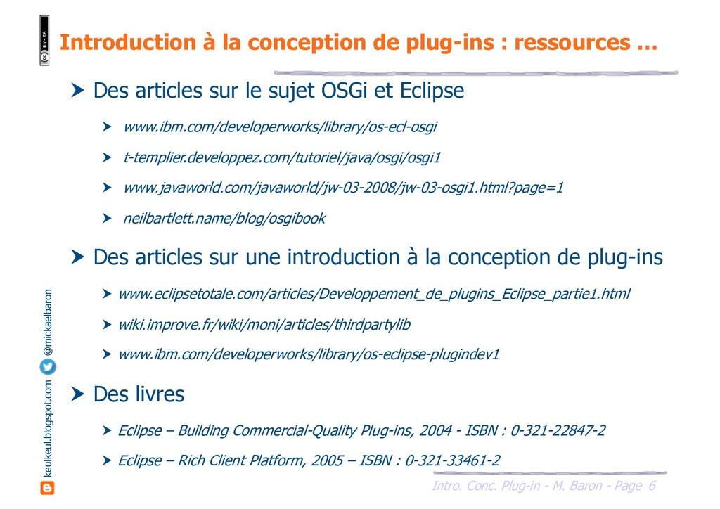 6 Intro. Conc. Plug-in - M. Baron - Page keulke...