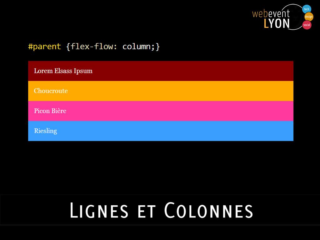 Lignes et Colonnes