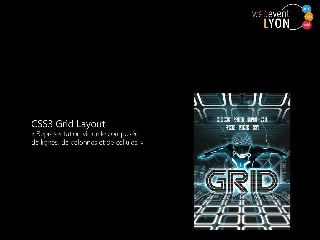 CSS3 Grid Layout « Représentation virtuelle com...