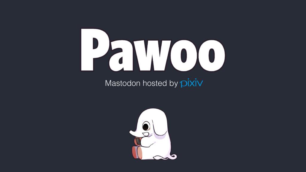 Mastodon hosted by