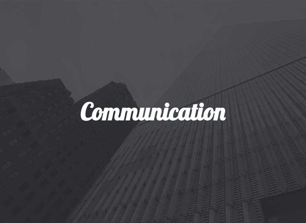 Communicatio