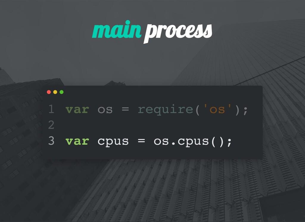 mai proces var os = require('os'); var cpus = o...