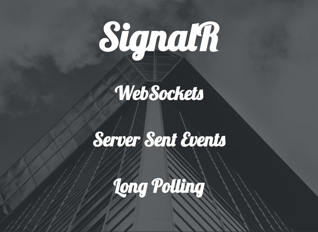 Signa R WebSocket Server Sen Event Lon Pollin