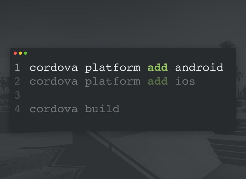 cordova platform add android cordova platform a...