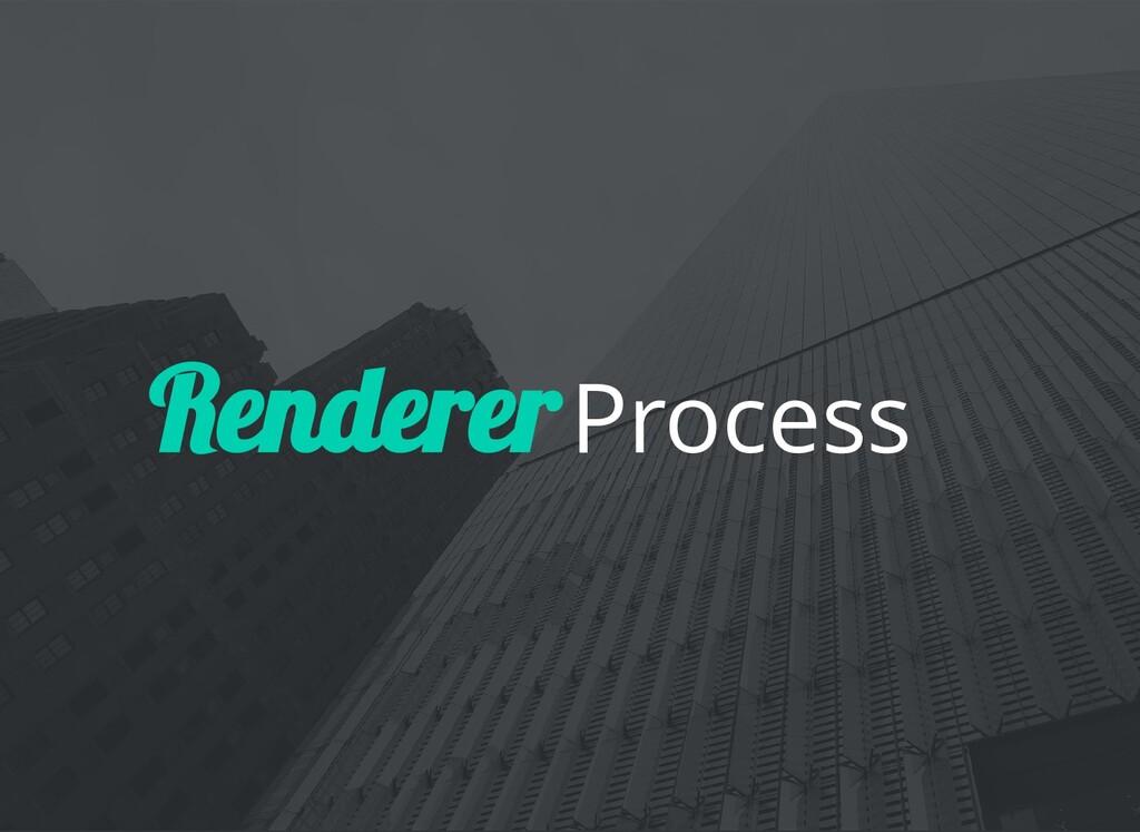Process Renderer