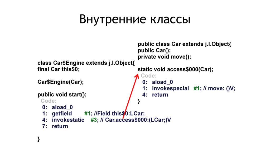public class Car extends j.l.Object{ public Car...