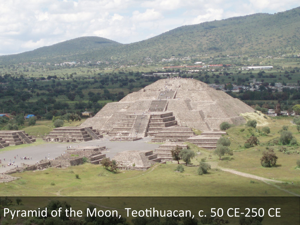 Pyramid of the Moon, TeoDhuacan, ...