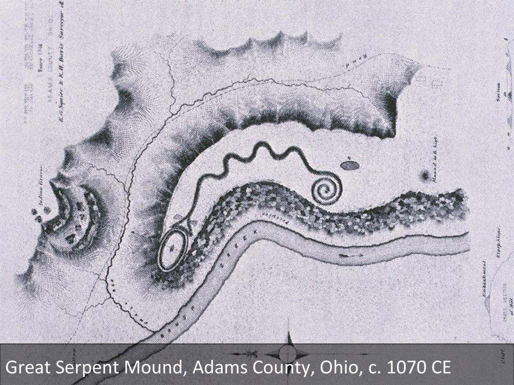 Great Serpent Mound, Adams County,...
