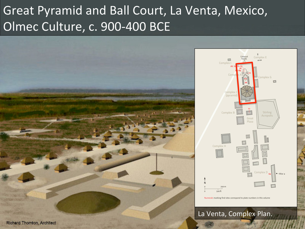 Great Pyramid and Ball Court, La...