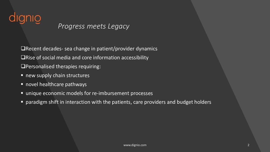 Progress meets Legacy ❑Recent decades- sea chan...