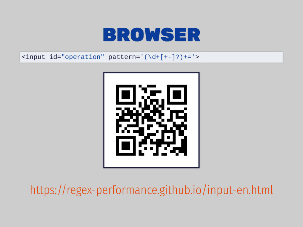 """BROWSER BROWSER <input id=""""operation"""" pattern='..."""