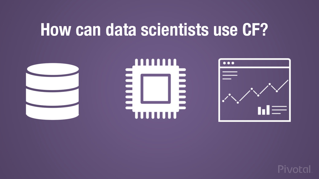 How can data scientists use CF?