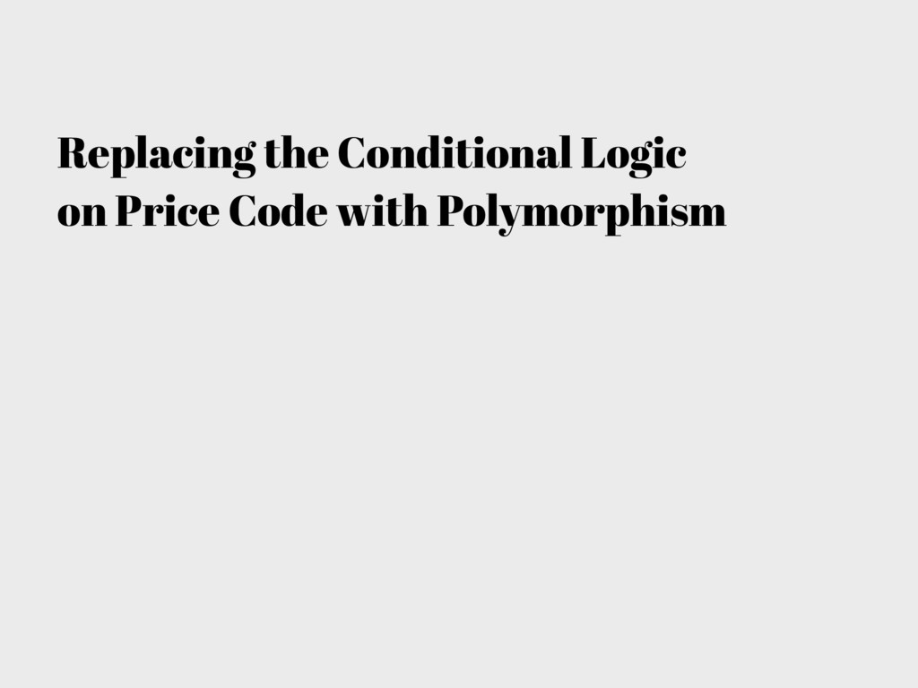 Replacing the Conditional Logic on Price Code w...