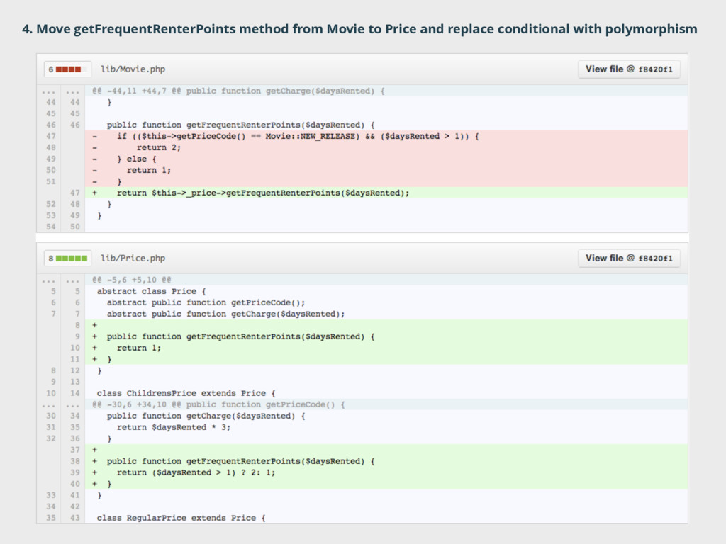 4. Move getFrequentRenterPoints method from Mov...