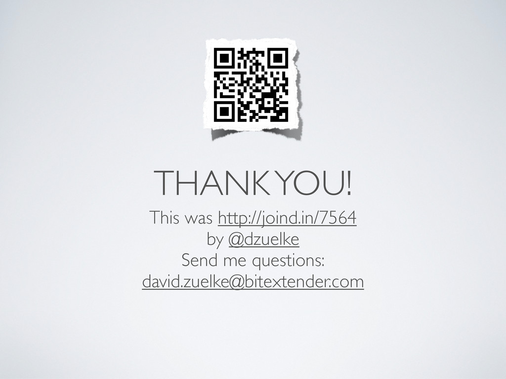 THANK YOU! This was http://joind.in/7564 by @dz...
