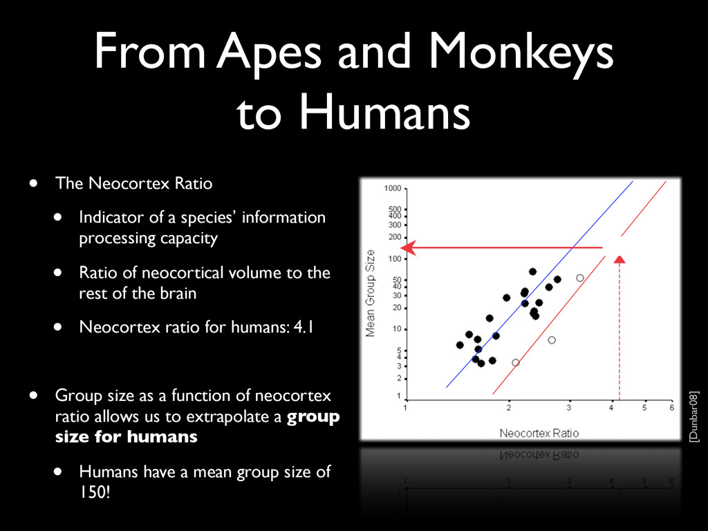 From Apes and Monkeys to Humans • The Neocortex...
