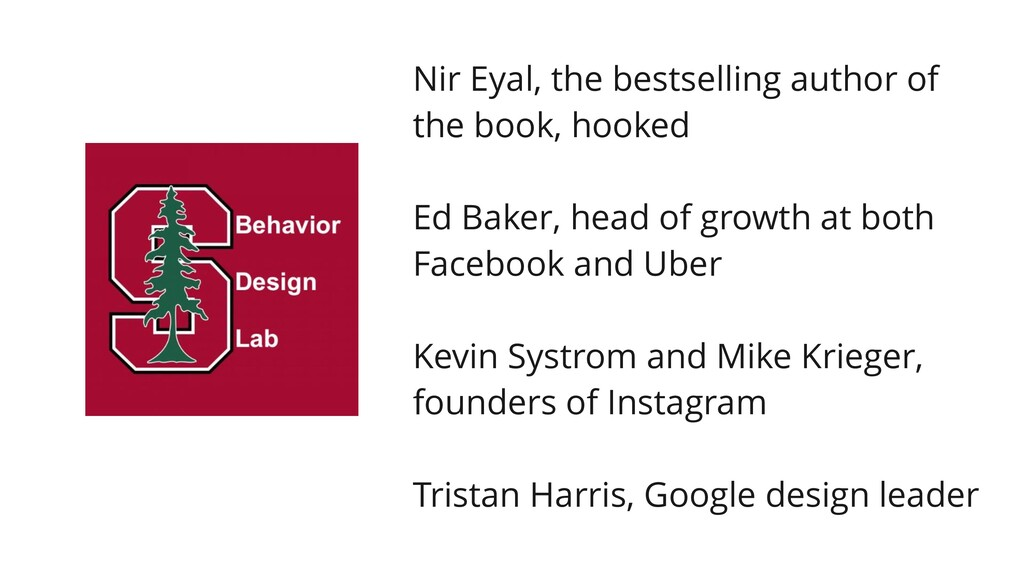 Nir Eyal, the bestselling author of the book, h...