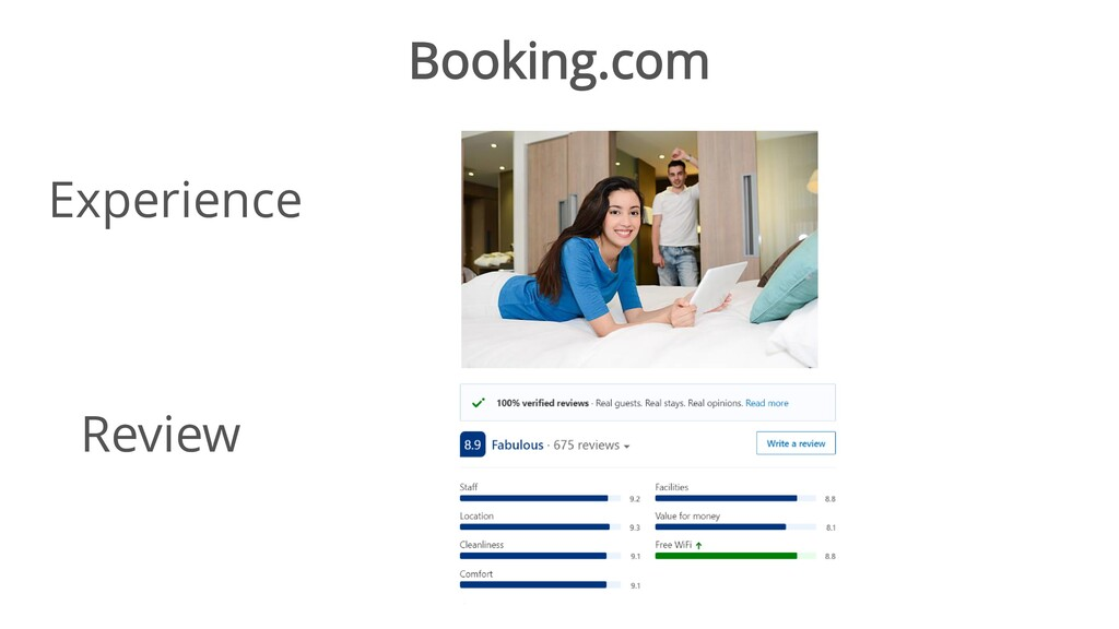 Booking.com Experience Review