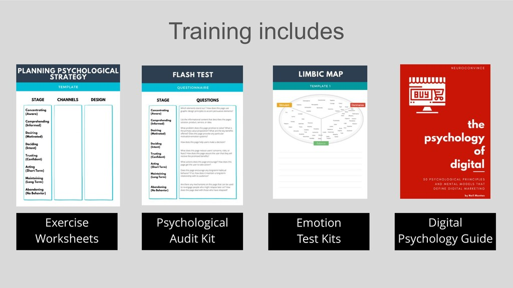Training includes Exercise Worksheets Psycholog...