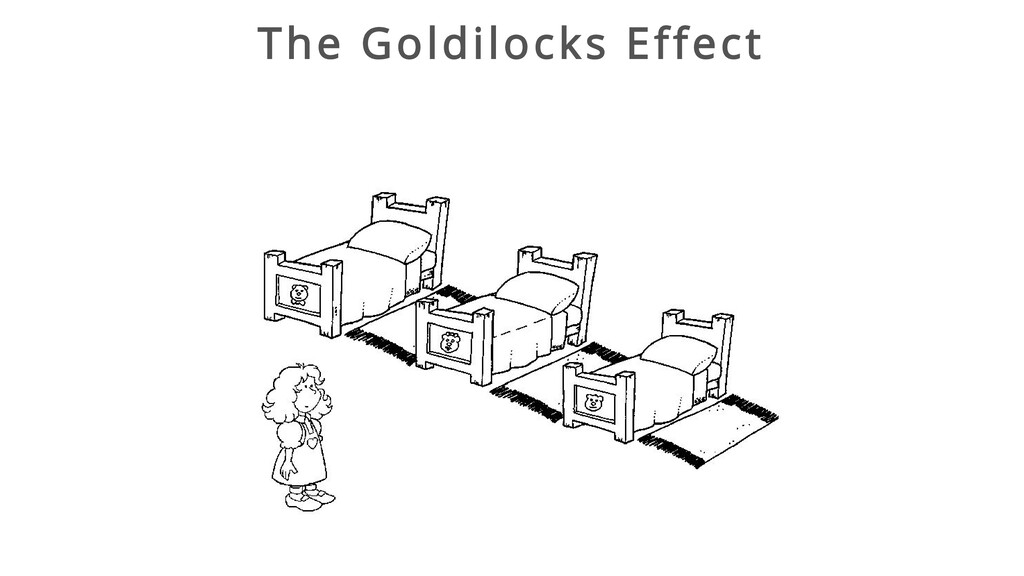 The Goldilocks Effect