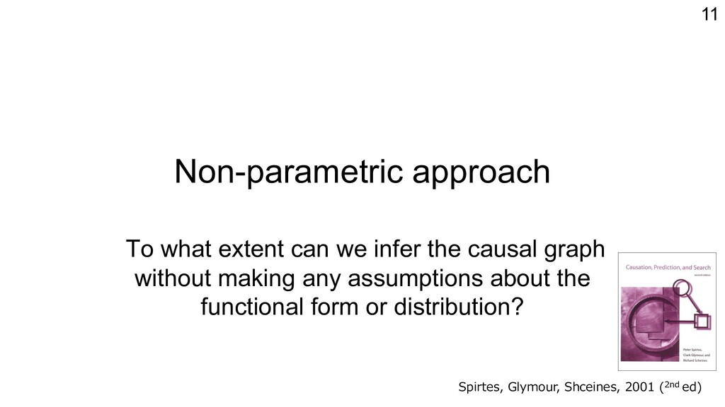 Non-parametric approach To what extent can we i...