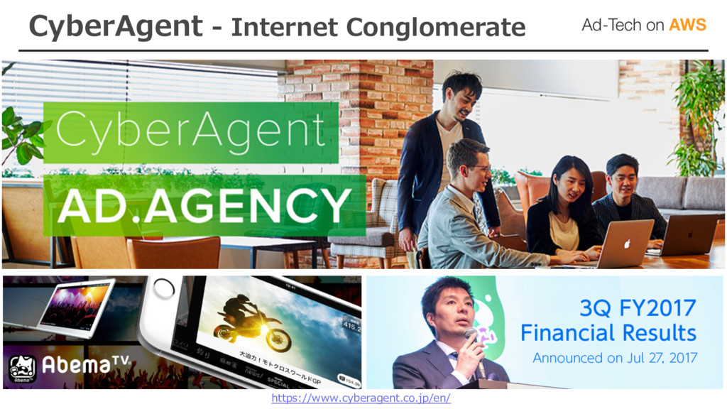 CyberAgent - Internet Conglomerate https://www....
