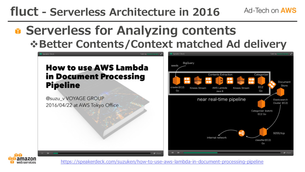 fluct - Serverless Architecture in 2016 Serverl...