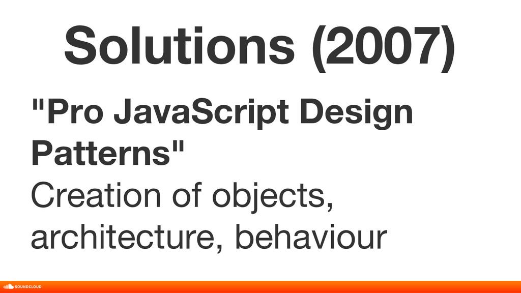 """Pro JavaScript Design Patterns"" Creation of ob..."