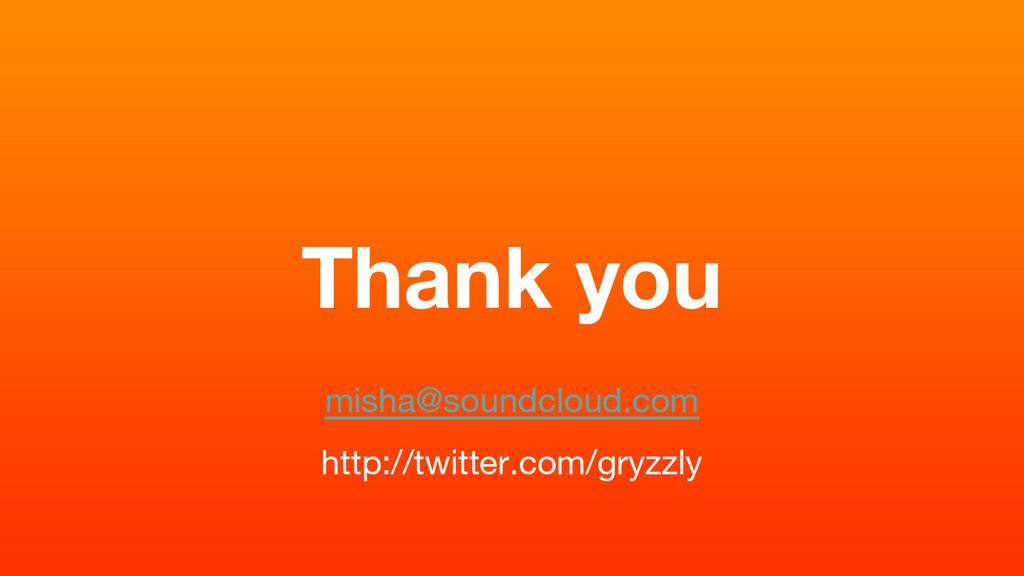 Thank you misha@soundcloud.com http://twitter.c...