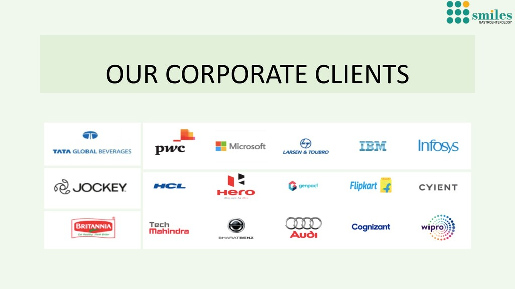 OUR CORPORATE CLIENTS